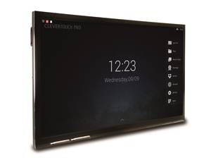 Large clevertouch pro angle home screen idj copy