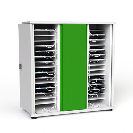 Zioxi CHRGC-TB-32 32 Bay iPad and Tablet Charging Storage Cupboard
