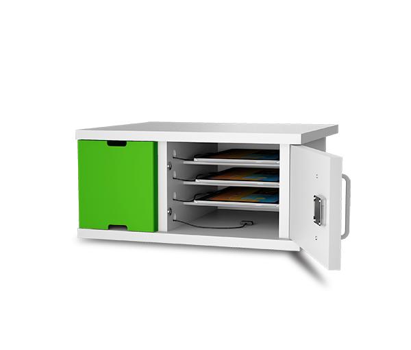 4_bay_iPad_charging_cabinet_open