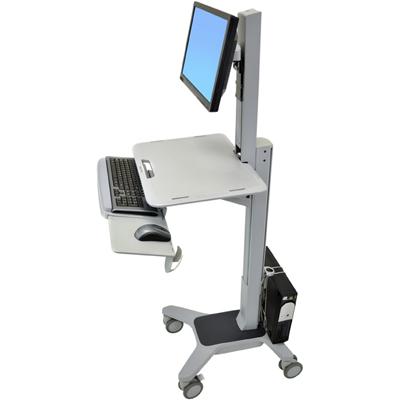 Ergotron WorkFit C-Mod Single Display Sit-Stand Workstation – cart  24-198-055