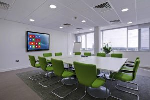 Clevertouch Plus in boardroom
