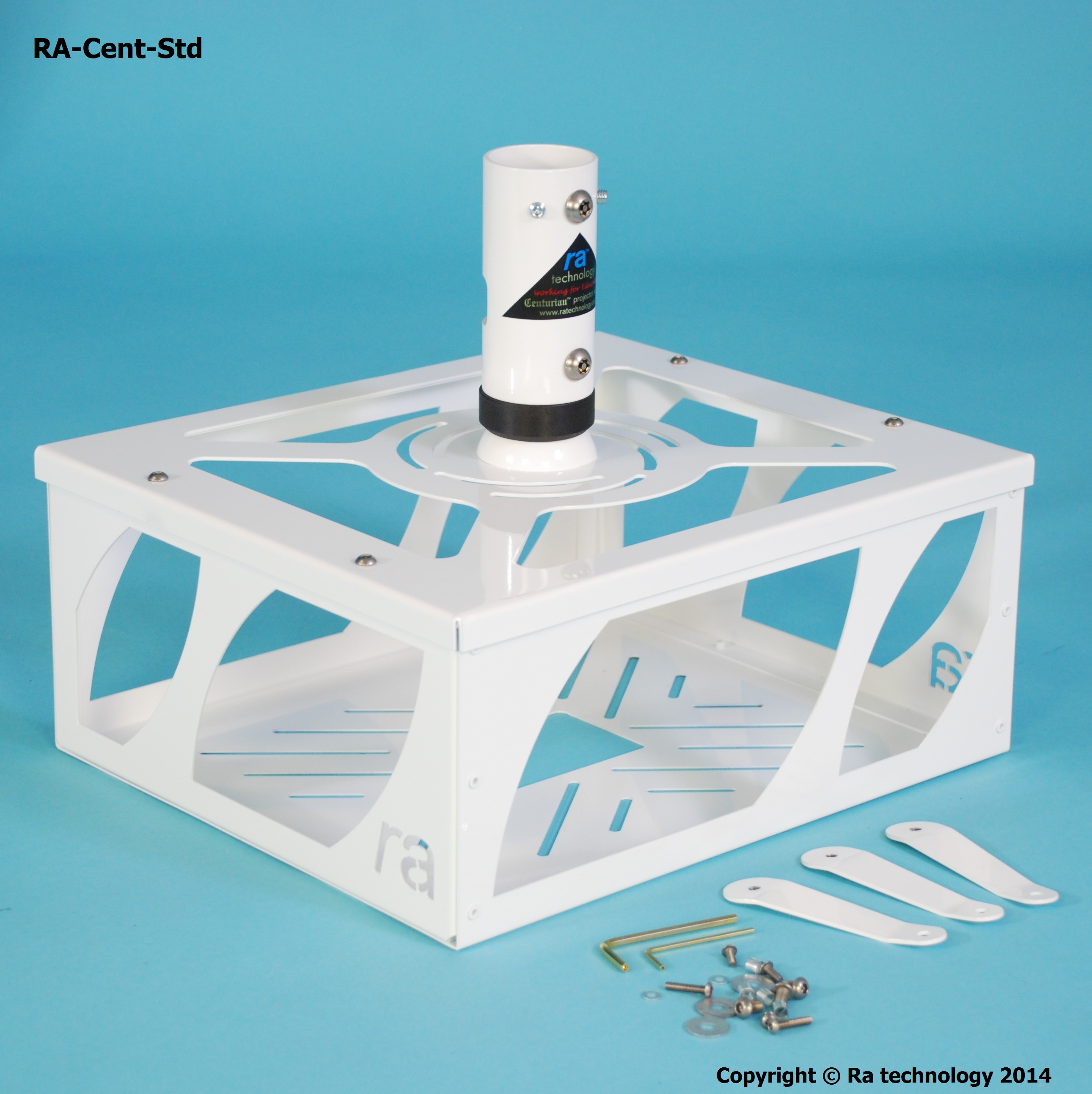RA Centurian Standard Entrapment RA Cent Std Projector Cage RA Cent Std   RA Technology Projector mounts and cages