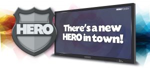 "86"" HERO Full UHD 4K Interactive display"