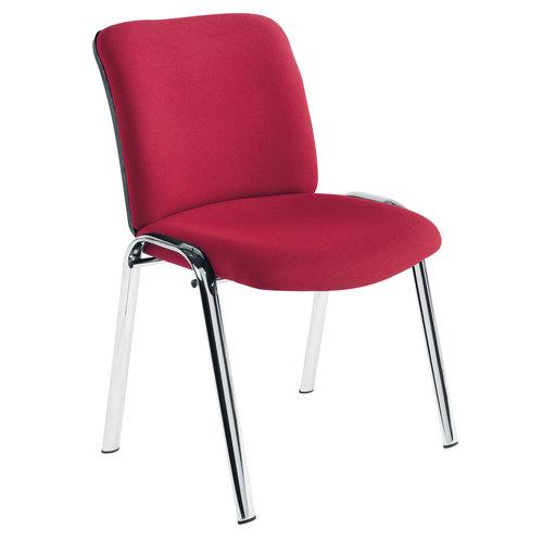 ch0527 pavillion chrome frame office chair future visuals