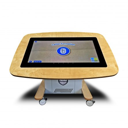 Hero Nursery touch table 32″ Wood with Battery Powered rechargeable unit