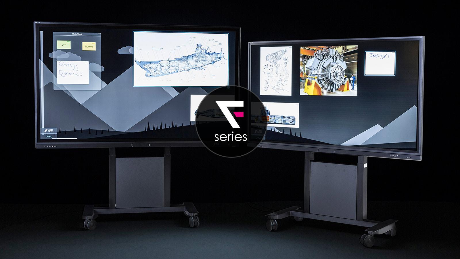 Avocor F 7510 Interactive Touch Screen Windows 10 Os