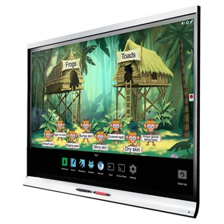 SMART Board 7275-V2 75″ 4K UHD Interactive Flat Panel SBID-7275