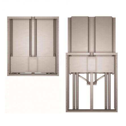 "APTASBB650-130 + APTFSBB400 Balance Box – Promethean HA Wall Mount 86"" with floor support"