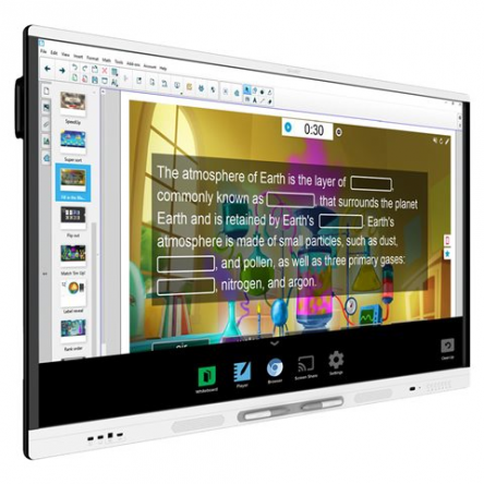 Smart 7286 4K with iQ and SMART Learning Suite