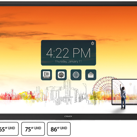 CTouch 75″ Laser Sky