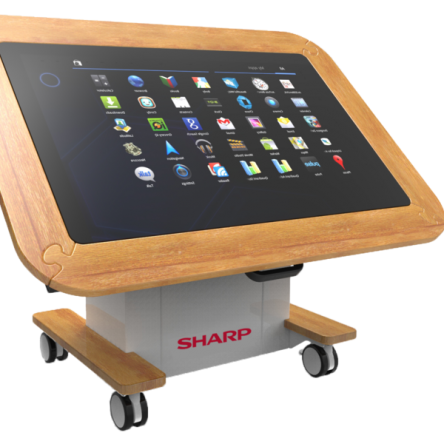 40″ SHARP BIG PAD INTERACTIVE TABLE – EYFS AND KS1