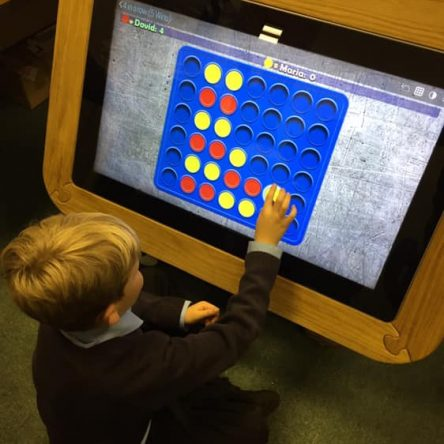 40″ ASD  INTERACTIVE TABLE WITH POWERPACK (fixed height)