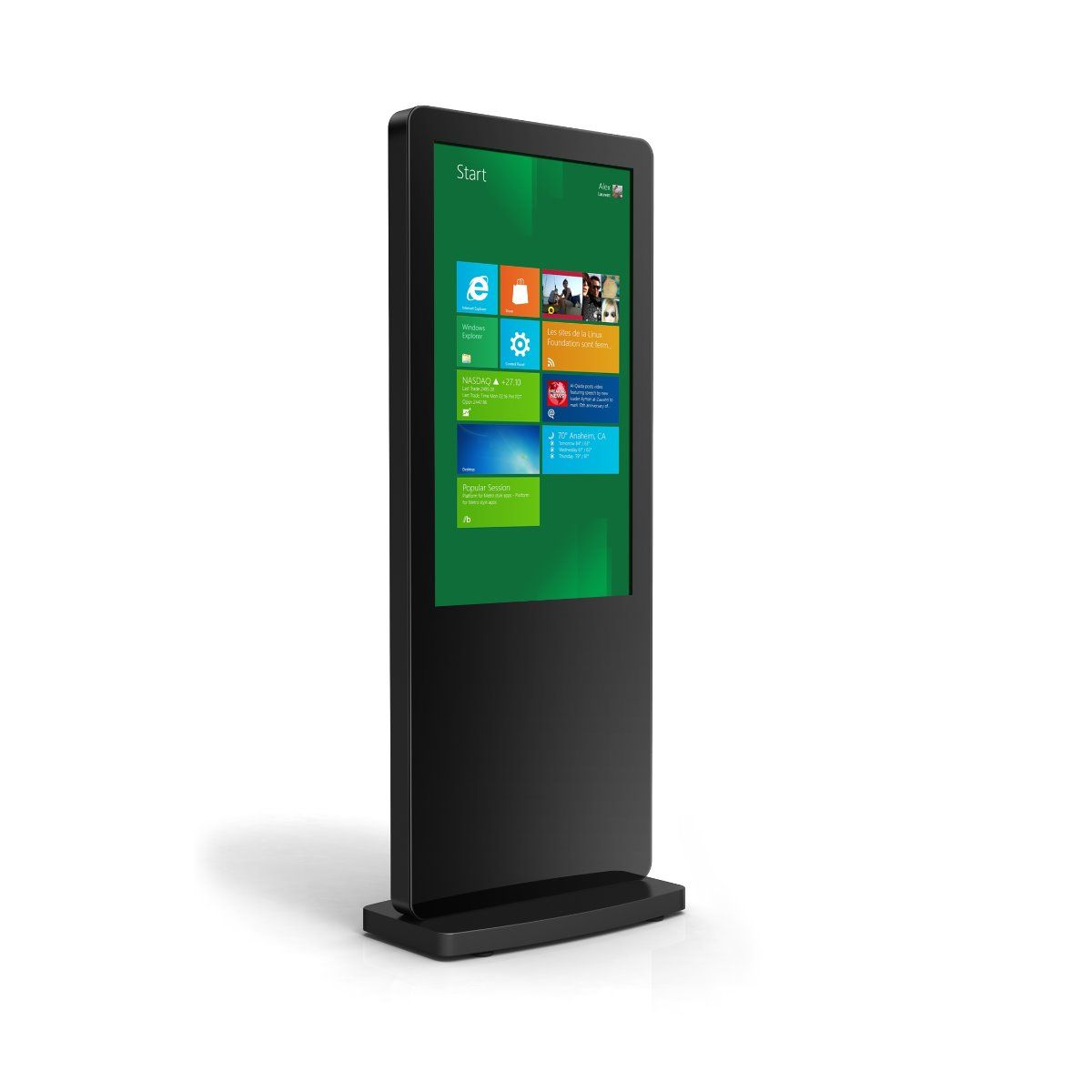 Freestanding Touchscreen Totem - 10 Point Touch