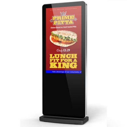 55″ Freestanding Digital Poster