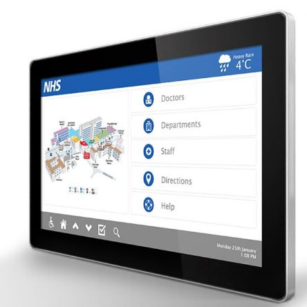 55″ PCAP Touch Screen with Dual OS